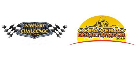 Interkart Challenge e Copa Verão de Kart Amador