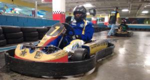 Alex Kidd - Piloto de Kart Indoor